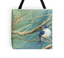 Forest kingfisher (Todiramphus macleayii) Tote Bag