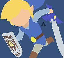Toon Link (Blue) - Super Smash Bros. by samaran