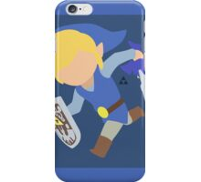 Toon Link (Blue) - Super Smash Bros. iPhone Case/Skin