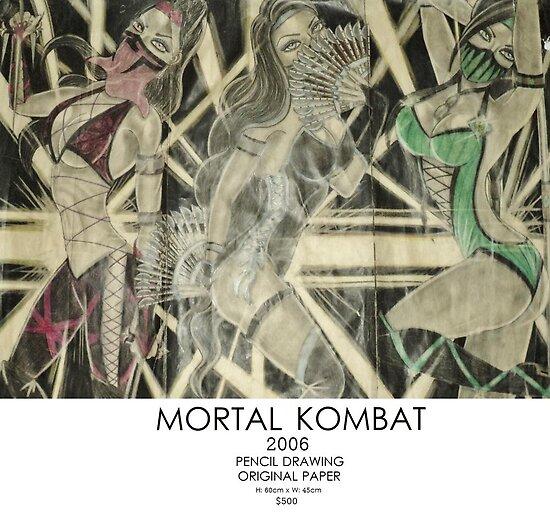Mortal Kombat by David Rayne  Berbia
