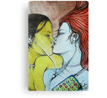The Music Lovers  Canvas Print