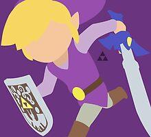 Toon Link (Purple) - Super Smash Bros. by samaran