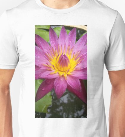 Beautiful Lotus Flower Unisex T-Shirt