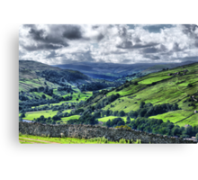 View of Swaledale Canvas Print