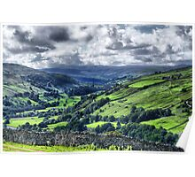 View of Swaledale Poster