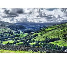 View of Swaledale Photographic Print