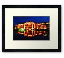Itamaraty Palace Framed Print