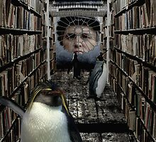 Penguins do the filing in my mind by AndyGii