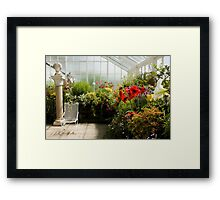 The Conservatory Framed Print