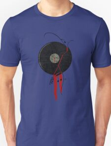 The bloody vinyl record won't die...Grunge Vintage T-Shirt