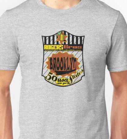 usa brooklyn by rogers bros Unisex T-Shirt