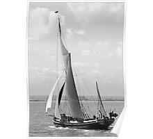 Thames Barge Poster