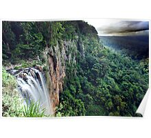 Purling Brook Falls View Poster
