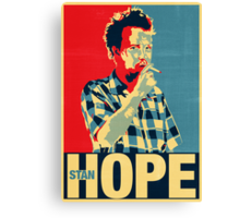 No Hope without StanHope Canvas Print