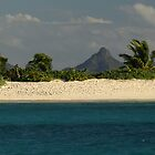 Deserted Beach in the Grenadines by moor2sea
