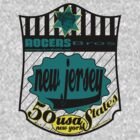 usa new jersey by rogers bros by usala