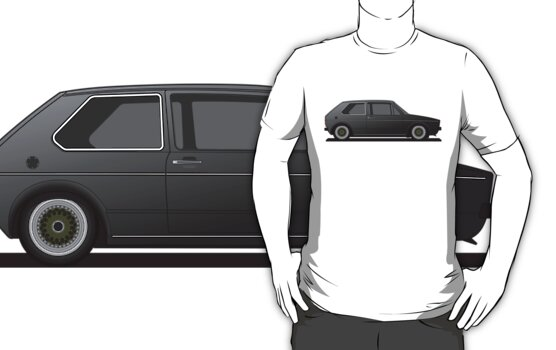 Volkswagen Golf Mk1 - Black by Volkswagen Guy