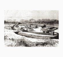 Édouard Riou Fort bodo riou 1890 Kids Tee