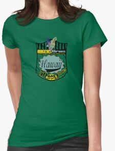 usa hawaii by rogers bros Womens Fitted T-Shirt