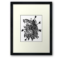 Rebirth & Co. Wolf Framed Print