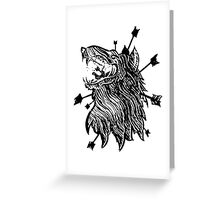 Rebirth & Co. Wolf Greeting Card