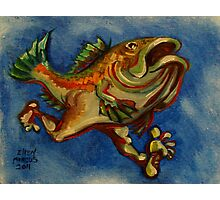 Fish with Legs Photographic Print