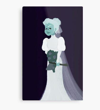 The Attic Bride Metal Print