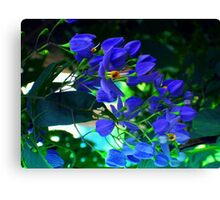 magestic blue Canvas Print