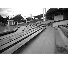 concert seating Photographic Print