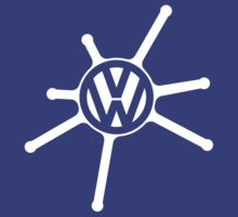 VW Splat Logo - White by Volkswagen Guy