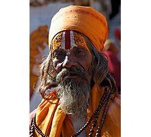 Holy Man, Udaipur Photographic Print