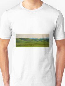 Rolling Green Pano Unisex T-Shirt