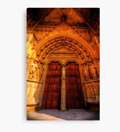 Tradesman's Entrance Canvas Print