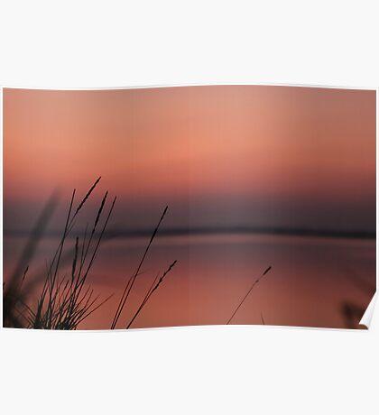 Soft dusk. Poster