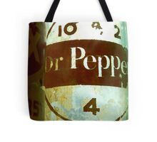 VINTAGE DR. PEPPER Tote Bag
