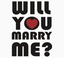 Will you marry me by personalized