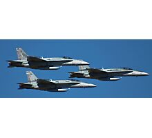 Hornets come in Threes Photographic Print