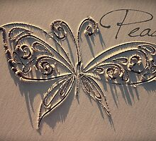 The Peace Butterfly by CarlyMarie