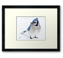 Forever In Blue Framed Print