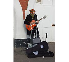 Busking 6 Photographic Print