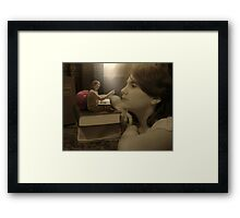 'Once upon a story time' Framed Print