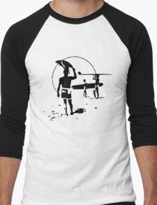 The Endless Summer - logo Men's Baseball ¾ T-Shirt