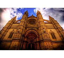 Cathedral of Santa Maria of Palma Photographic Print