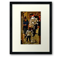 Stormtrooper Take Your Son To Work Framed Print
