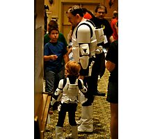 Stormtrooper Take Your Son To Work Photographic Print