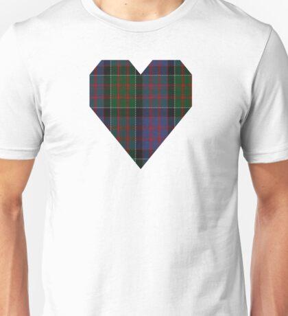 00572 MacDonald of Clanranald Tartan Unisex T-Shirt