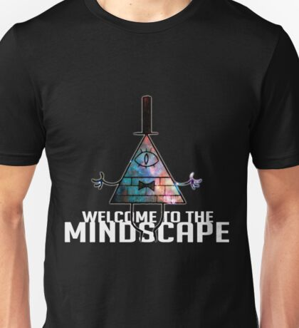 Welcome to The Mindscape -Spacey Unisex T-Shirt