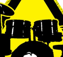 Dangerous drummer Sticker