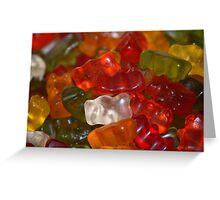 Yummy Gummy - Jelly Babies Greeting Card