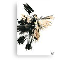 Raw Sparrow Canvas Print